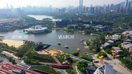 4K航拍深圳欢乐海岸,vamk网由作者上传素材出售,请到网站下载