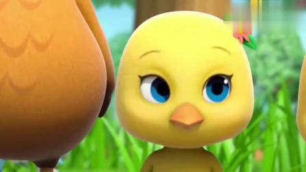 萌鸡小队:鸡妈妈和小萌鸡一起敷泥巴面膜!