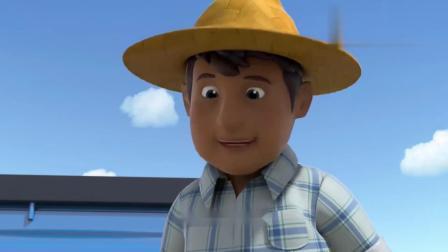 萌鸡小队:麦琪被农夫叔叔带走了,怎么办啊