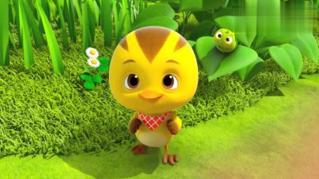萌鸡小队:麦奇照顾虫宝宝,当它的哥哥照顾它!
