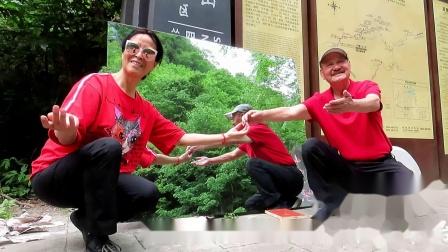 保持原始自然状态的四川省旺苍县鼓城山七里峡