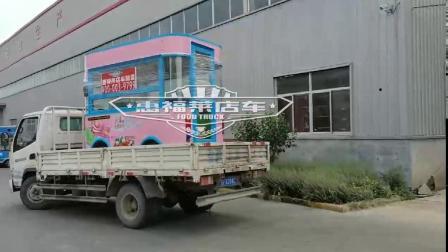 惠福莱餐车厂家直销移动早餐车价格