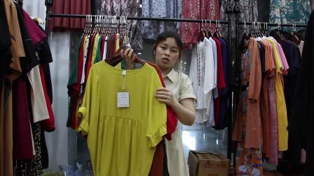 新款女装批发服装批发女装货源时尚女士夏装天丝棉上衣30件一份,可挑款散批零售~1