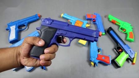 玩具枪酷炫神枪手小朋友的警察梦想要实现了