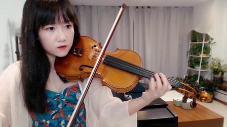揉揉酱演奏冰雪奇缘2主题曲Into the Unknown小提琴版自制小提琴谱