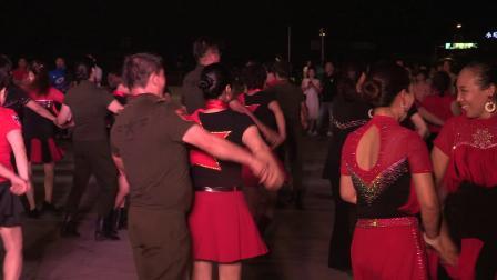 9月15日各地舞友齐跳水兵舞第四套