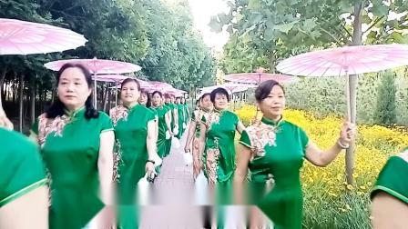 爱剪辑-禹城市玲动梦旗袍队湿地公园走秀