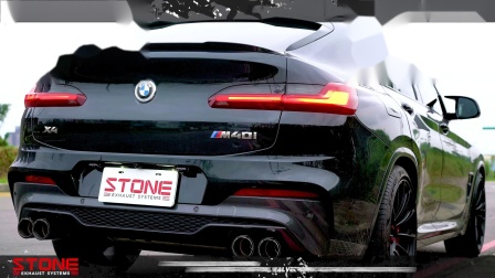 BMW G02 B58 X4 M40i Stone Eddy Cat DP + Valvetronic Exhaust System.mp4