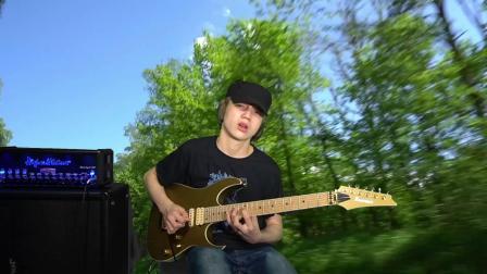 15岁吉他手Dustin Tomsen原创作品Run精彩片断!