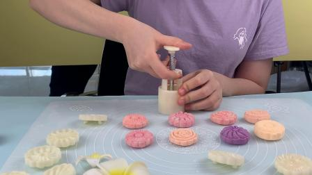 月饼模具 使用教程 小饼干制作