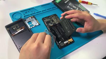 小米MIX2s换电池视频教程小米mix2小米mix小米mix3换电池教程陶瓷尊享版维修拆机换屏幕手机电板触摸屏总成教程拆机讲解