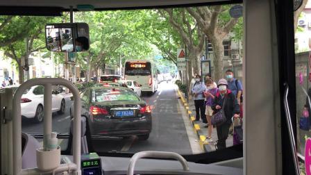 """【巴士二公司】49路(S2Y-0305,大耳朵图图""""六一""""专线)上海体育馆—汉口路江西中路全程"""