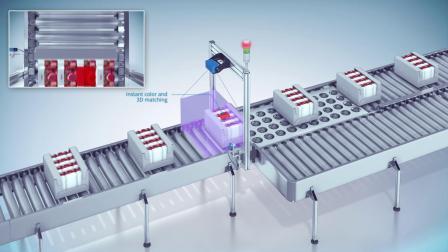 西克(SICK)VisionaryS 3D机器视觉产品应用.mp4
