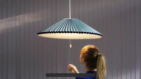 抖音网红吊灯设计师雨伞客厅创意北欧卧室餐厅小红书个性灯