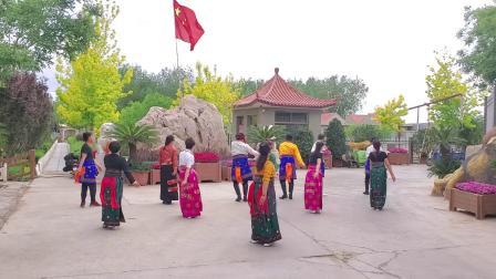 甘肃省景泰县枫林锅庄舞协会120_学跳西宁锅庄