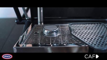 Urnex意式咖啡机清洁粉Cafiza的操作视频(浸泡功能)