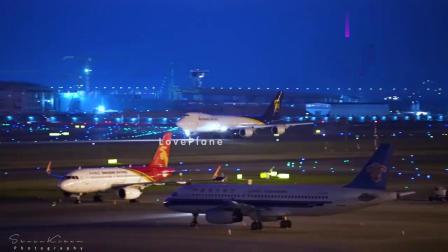 美国和伊朗飞机同时出现在深圳,美国两架货机伊朗一架客机载货