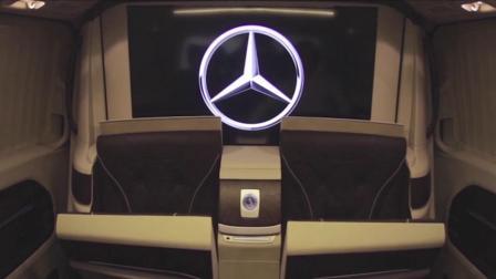 奔驰威霆航空座椅改装这套内饰让人惊艳
