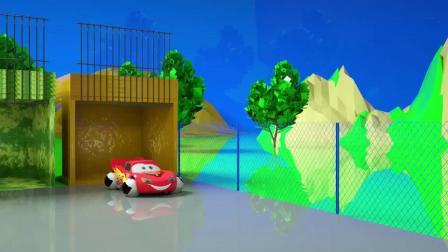趣味幼儿益智玩具:工程车 小轿车长出篮球 足球轮子