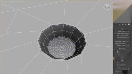 Create Holes孔状环形结构制作3dsmax插件V1.3版 RRCG