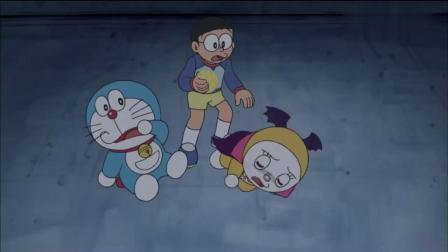 哆啦A梦:哆啦美再次变成了吸血鬼,大雄发现哆啦美害怕菠萝面包.