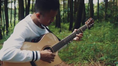 Iqbal Gumilar吉他指弹翻弹梦龙乐队Imagine Dragons - Demons