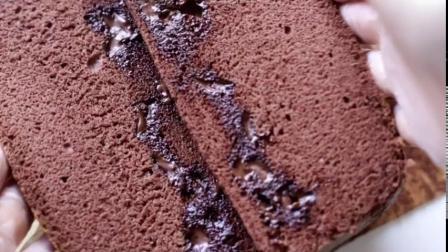姗胖胖的巧克力古早味蛋糕