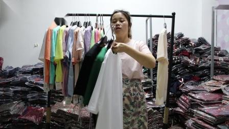 新款女装批发服装批发女装货源时尚女士特价小衫20件一份,可挑款散批零售