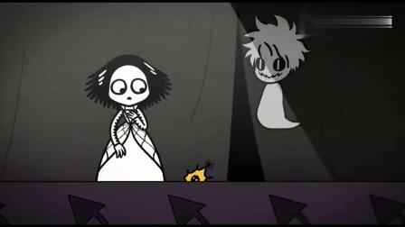 尖尖帕克家族:幽灵帮迪丽吓跑众人,只剩他们俩,情敌却此时出现.