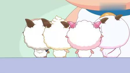 嘻哈闯世界:小羊们回来寻找喜羊羊,因为我们是一家人.