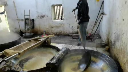 第28集:云南正宗古法巧家小碗红糖熬制流程,糖打沙