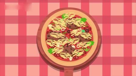 迷你特工队游戏:麦克斯定制一个超大披萨 他一个人能吃完吗?