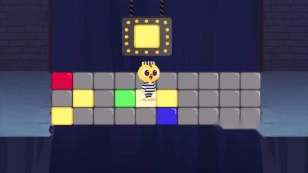 迷你特工队游戏:麦克斯发现断桥下有很多眼睛 是蝙蝠的眼睛吗?