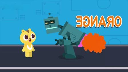 迷你特工队游戏:麦克斯分机器人吃猕猴桃,机器人爱吃吗