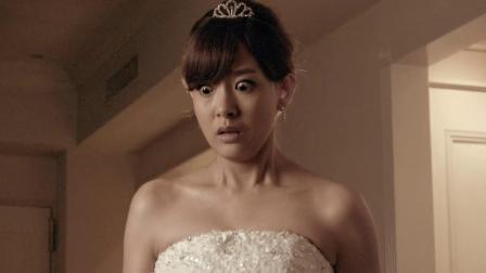 美女去试婚纱,怎料婚纱刚穿上,裙摆竟伸出一只血手