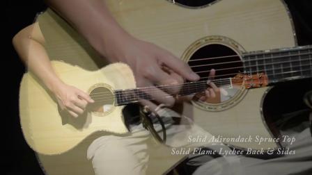 Maestro美诗特吉他15周年特别款阿迪面荔枝木背侧 VI-LY