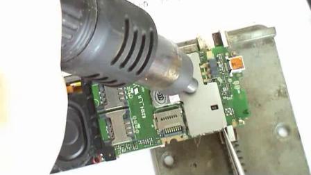 怎样拆卸手机屏蔽罩、技兴汇、手机维修入门视频