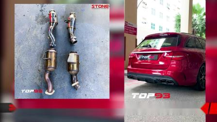 Mercedes AMG C43 Stone Eddy Catalytic Downpipe X Top93.mp4