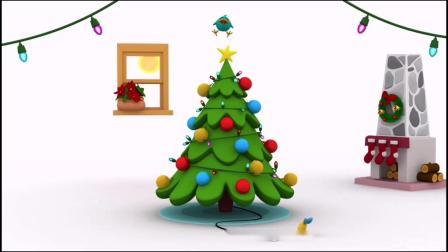 英语启蒙儿歌幼儿磨耳朵不一样的圣诞歌