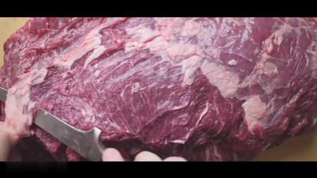 禁止空腹观看,3.5kg的腹心牛排分割以及低温牛排