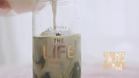 自制抹茶牛奶咖啡,解救你的闷热夏季