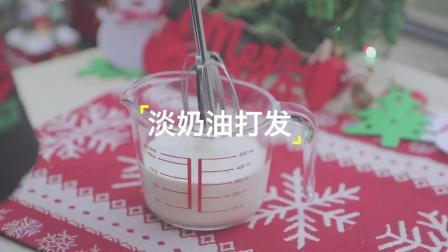 「厨娘物语」胖胖雪人木糠杯 ⛄️甜蜜好吃又有趣,做起来也超简单,小朋友也能完成