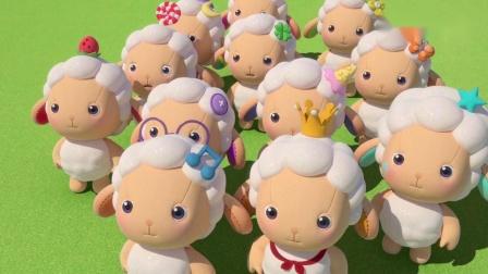 彩虹宝宝把西兰花做成纸飞机,小羊们终于愿意吃了!.mp4