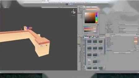 立体球状触摸躲避异色手机游戏完整项目Unity游戏素材资源.mp4