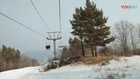 助力冬奥  18~19雪季末 上京国际滑雪场 索道(加音乐)