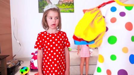 萌娃小可爱穿上婚纱呀嫁人啦老爸哭的很伤心萌娃爸爸开心点嘛