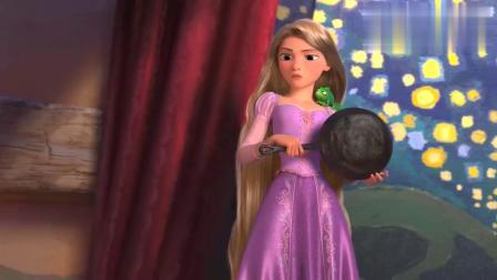 魔法奇缘:长发公主只是想去看看天灯,就这么简单