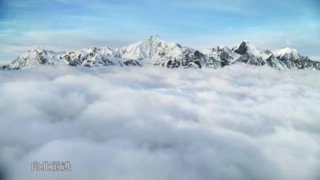 01云南03:庞大壮观的雪山群 梅里雪山