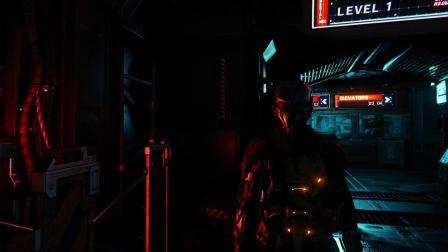 【游民星空】《星际公民》光追MOD酷似《毁灭战士3》