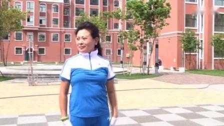 齐齐哈尔市第九套鹤城鹤舞有氧健身操教学版_高清